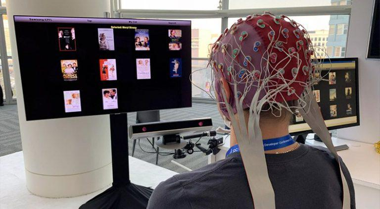 samsung's technology, transforms the human brain into a remote control