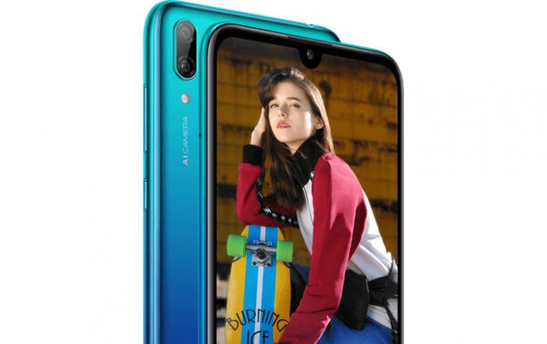 Features of Huawei's Entry-Level Smartphone Y7 2019