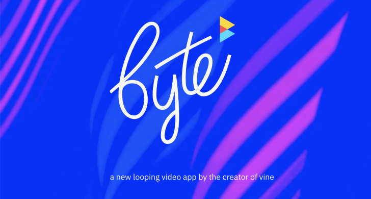 byte, vine, mobile app