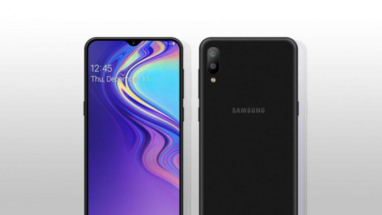 Samsung's New Infinity-V Design Phone Galaxy A50 Is Displayed