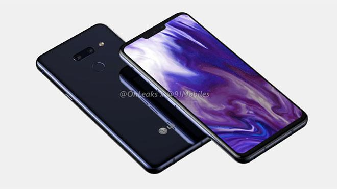 The design of the LG G8 emerged before the MWC
