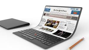Lenovo Received a Foldable Screen Patent with a Physical Keyboard