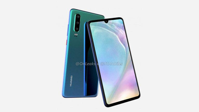 Huawei will use OLED display in the entire P30 series