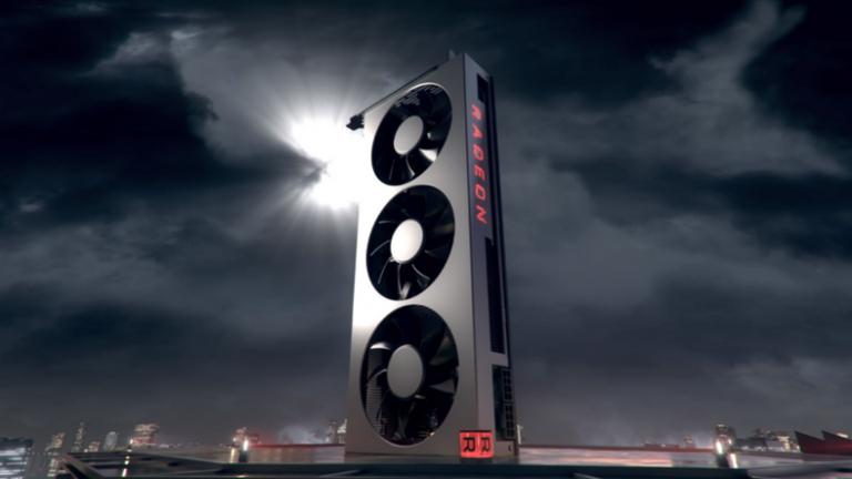 World's first 7nm screen card AMD Radeon VII