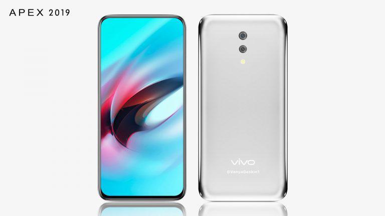 The concept design of Vivo Apex 2 (2019)