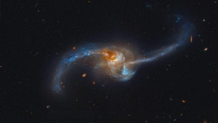 Software developed that we can see how galaxies unite